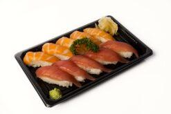 Tuna salmon ten