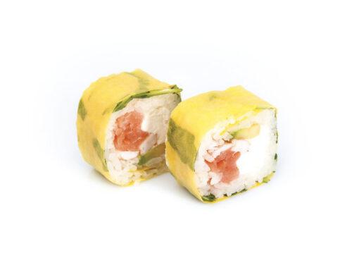 Maki Gamberi salmone affumicato
