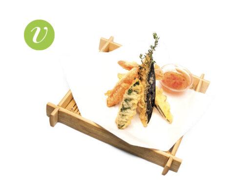 tempura vegetariana