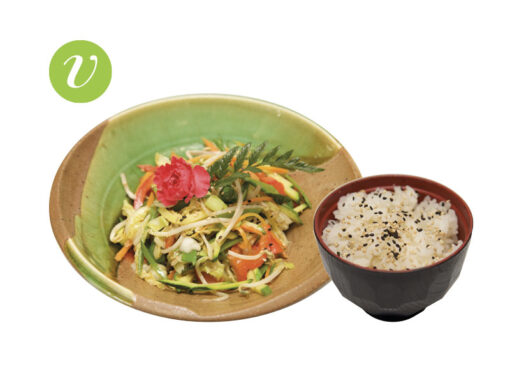 Verdure saltate con tofu